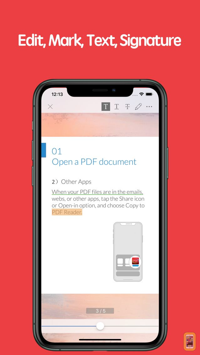 Screenshot - PDF Reader - Quick view and edit the PDF document