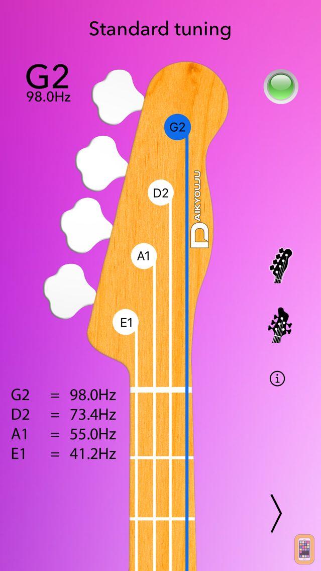 Screenshot - Bass Tuner Professional