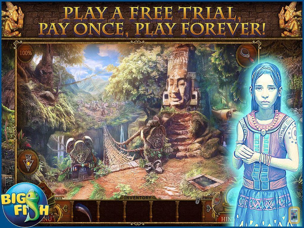 Screenshot - Mayan Prophecies: Cursed Island HD - A Hidden Objects Puzzle Adventure