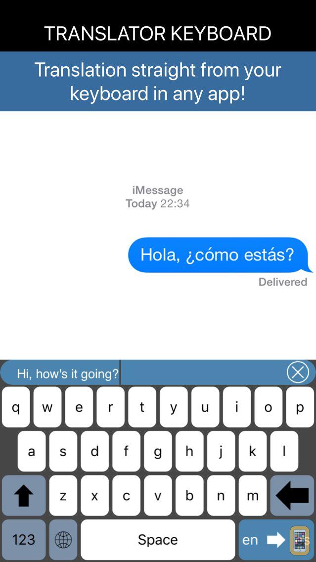 Screenshot - Translator Keyboard