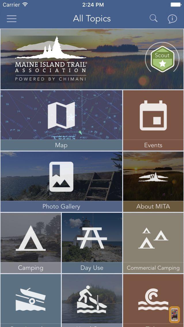 Screenshot - Maine Island Trail Association