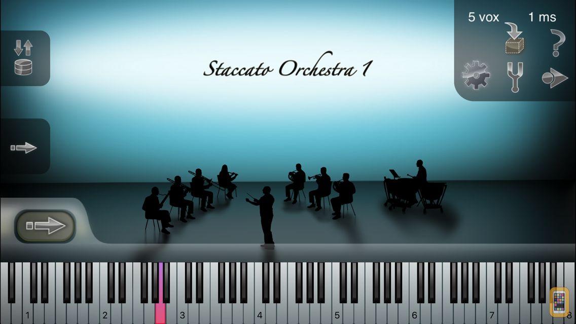 Screenshot - iSymphonic Orchestra