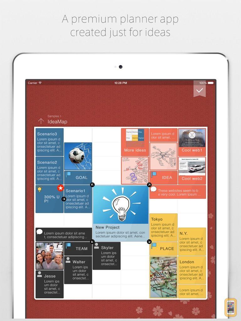Screenshot - IdeaGrid for iPad