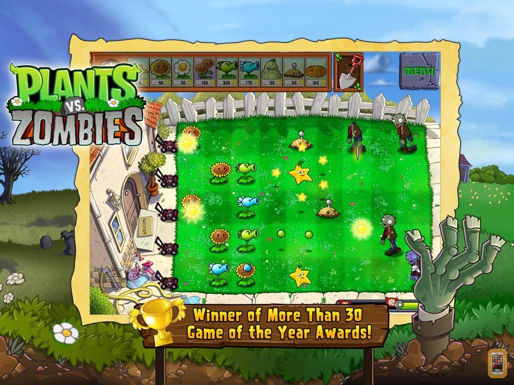 Screenshot - Plants vs. Zombies™ HD