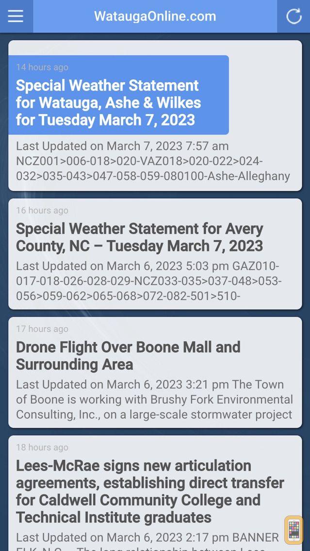 Screenshot - WataugaOnline.com