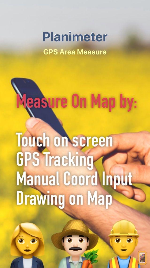 Screenshot - Planimeter GPS Area Measure