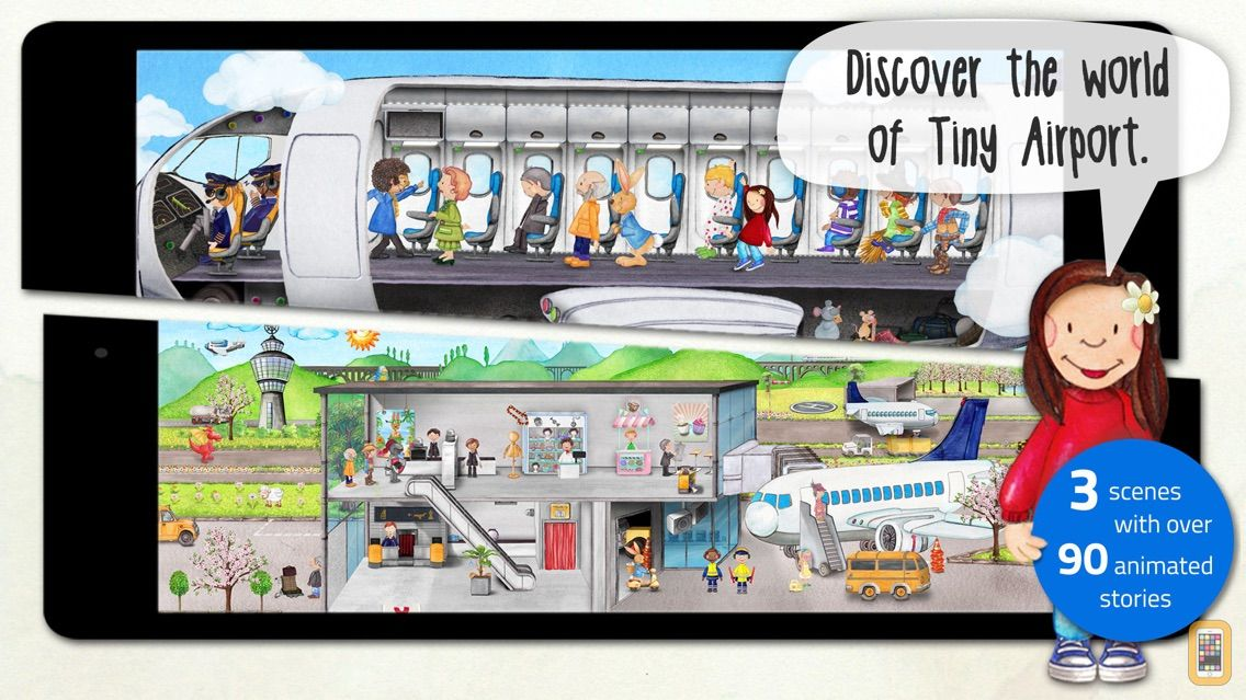 Screenshot - Tiny Airport: Toddler's App