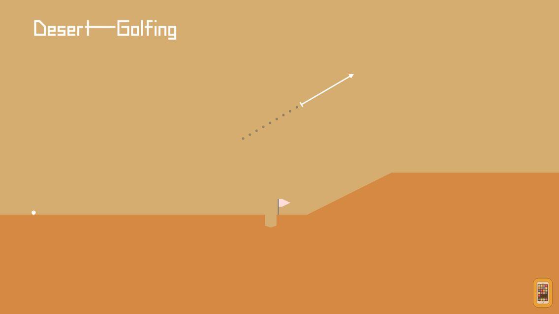 Screenshot - Desert Golfing