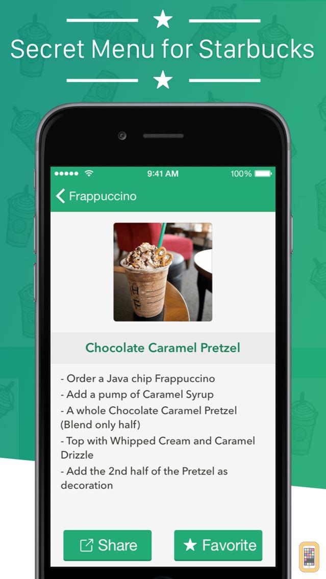 Screenshot - Secret Menu for Starbucks +
