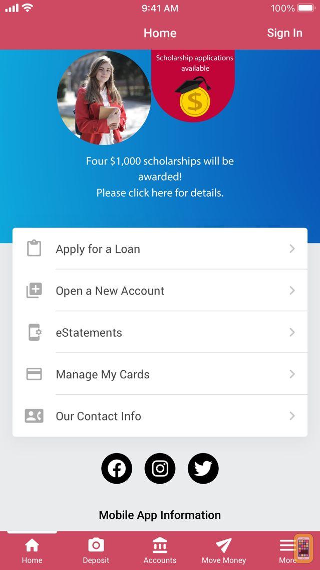 Screenshot - TruFCU Mobile Banking