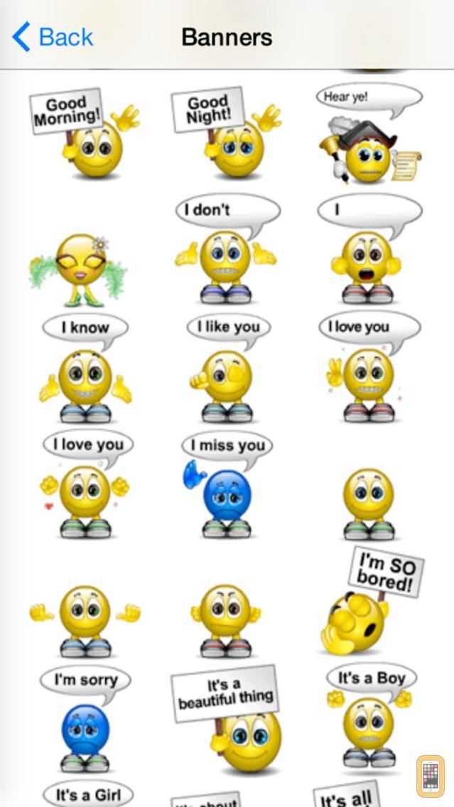 Screenshot - Animated Emojis Pro -  3D Emojis Animoticons Animated Emoticons