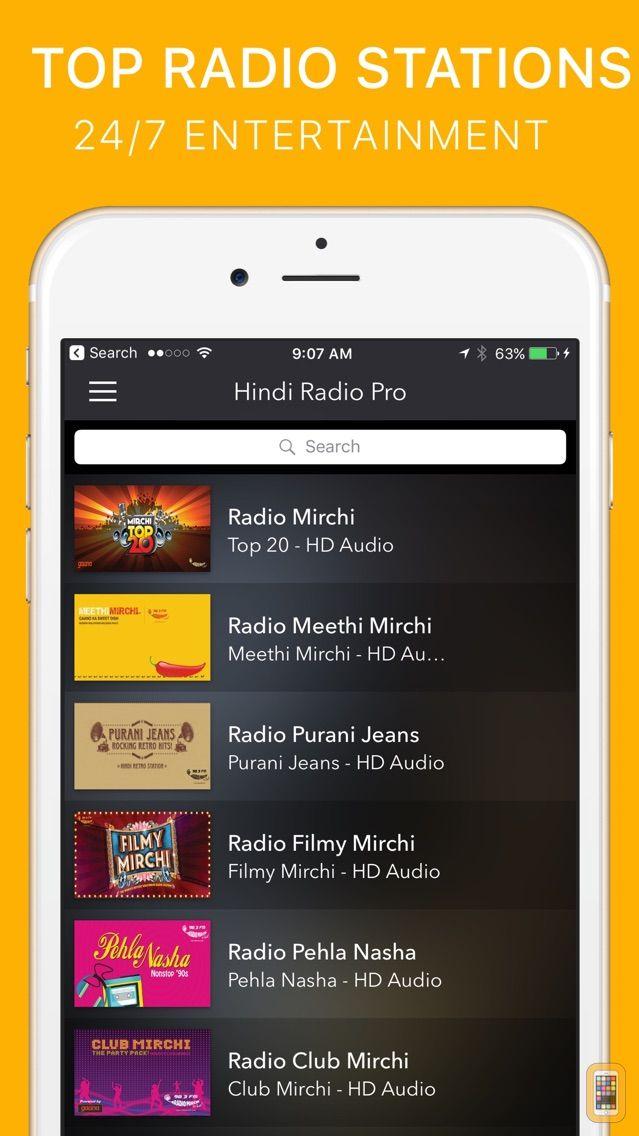 Screenshot - Hindi Radio Pro - India FM
