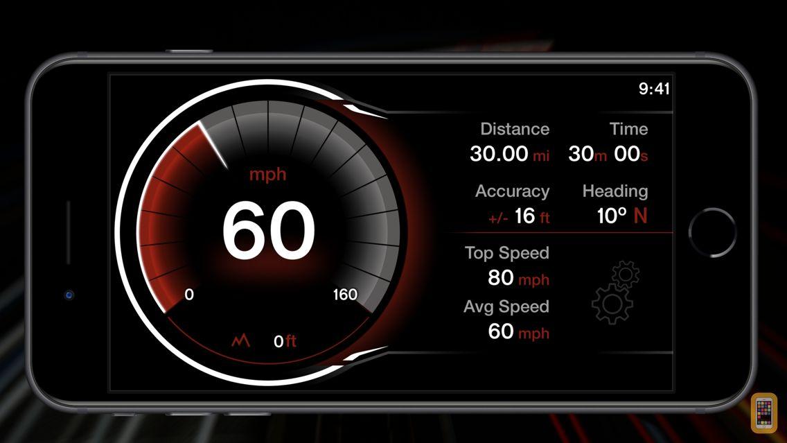 Screenshot - GPS Digital Speed Tracker Pro