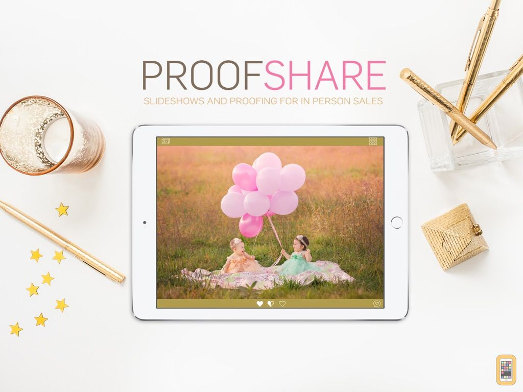 Screenshot - ProofShare for Photographers