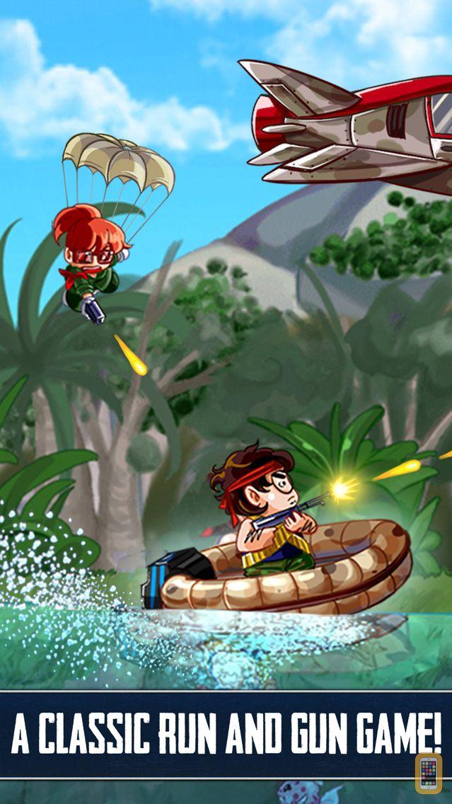 Screenshot - RAMBOAT - Game of Shoot and Dash, Run and Jump !