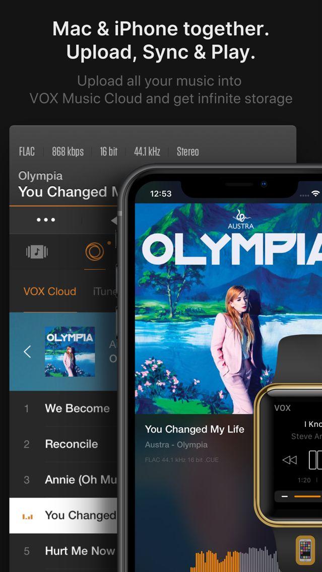 Screenshot - VOX – MP3 & FLAC Music Player