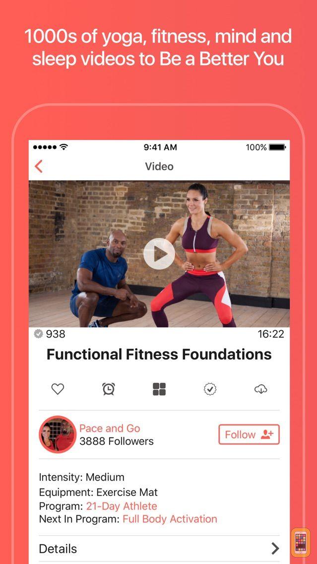 Screenshot - Grokker: Yoga, Fitness, Mind