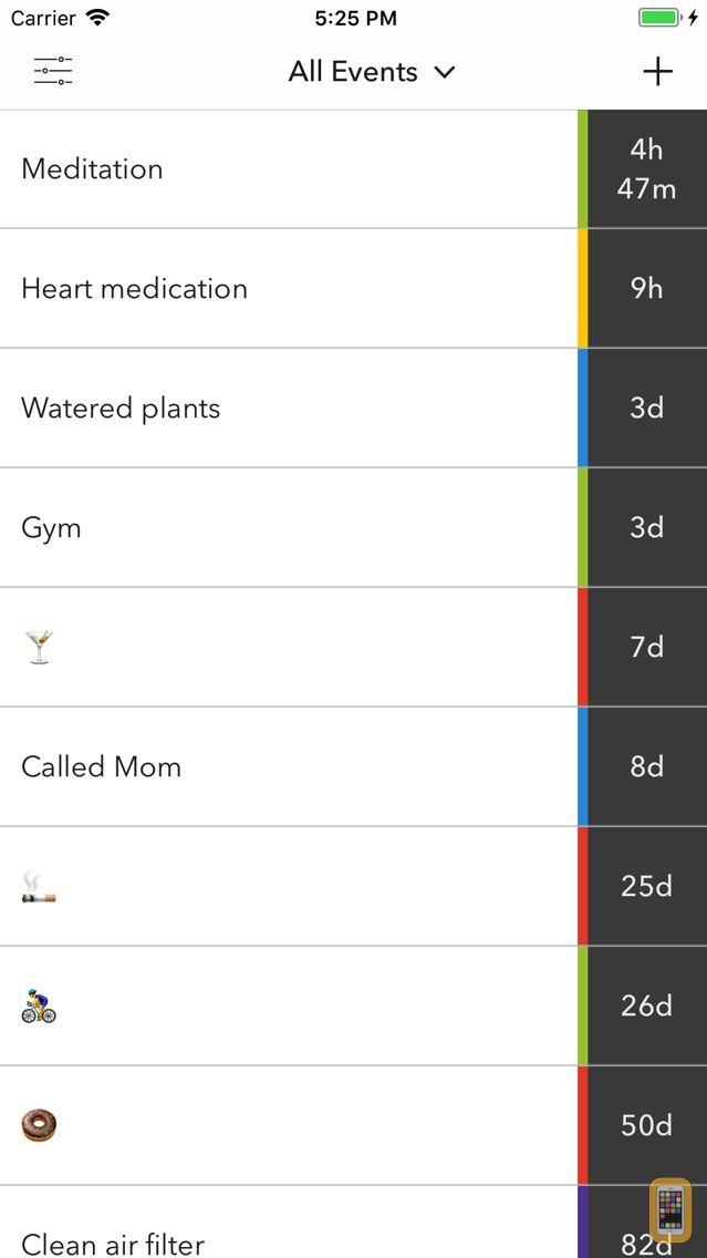 Screenshot - Hindsight - Time Tracker