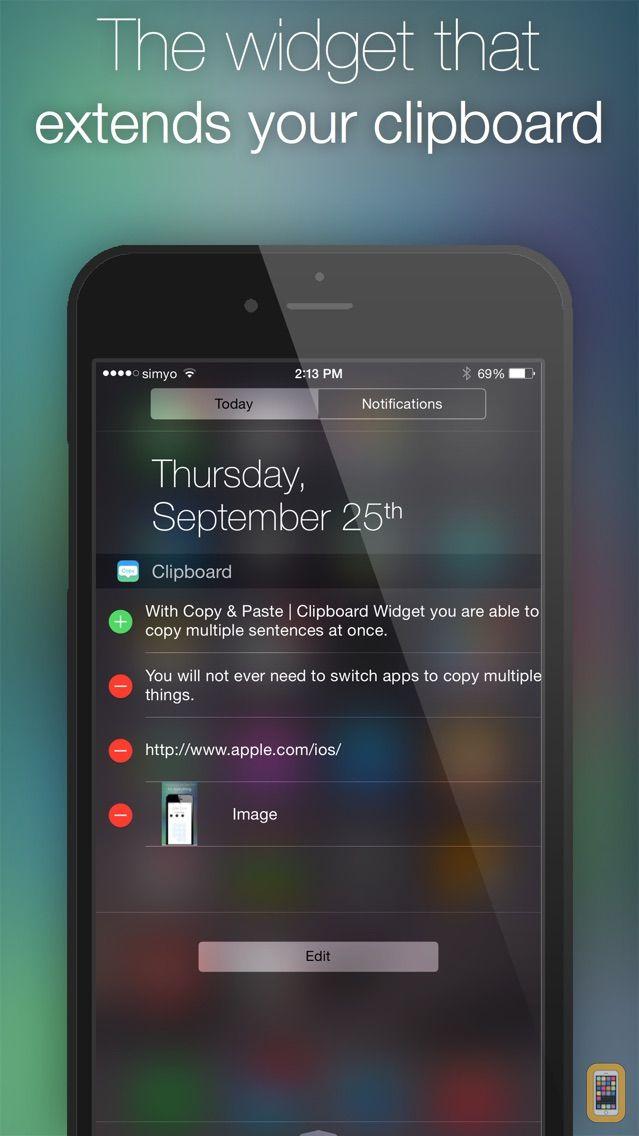 Screenshot - Copy & Paste | Clipboard Widget