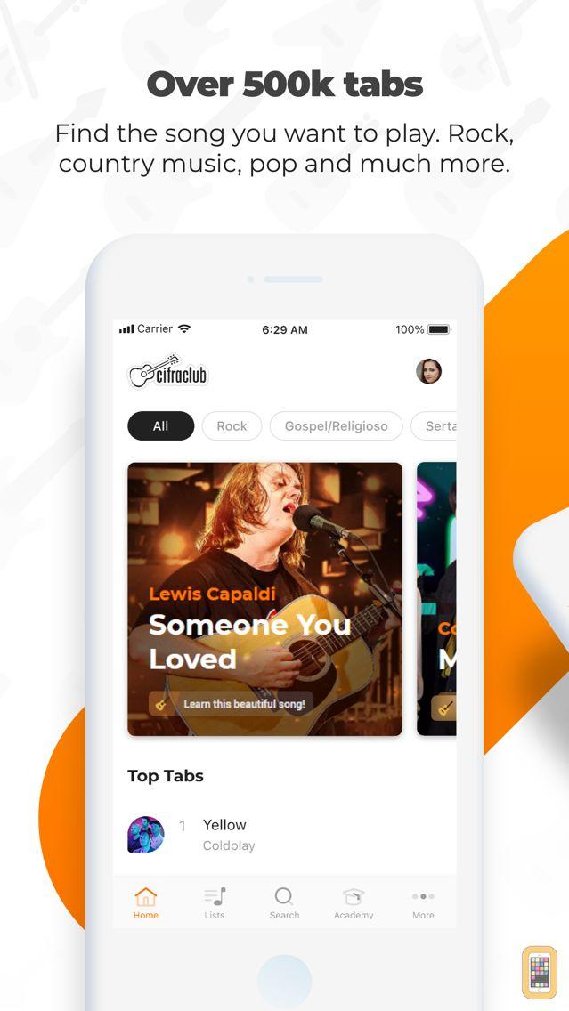 Screenshot - Cifra Club