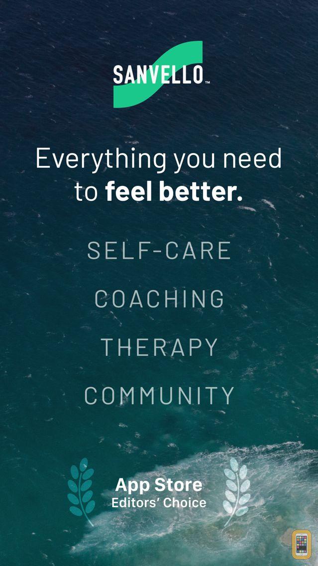 Screenshot - Sanvello:Stress & Anxiety Help