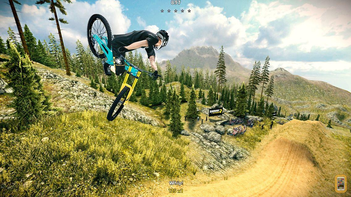 Screenshot - Shred! Extreme Mountain Biking - HD
