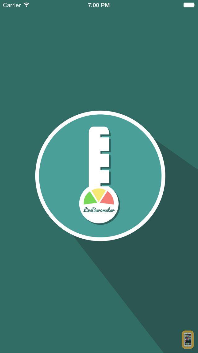 Screenshot - Live Barometer