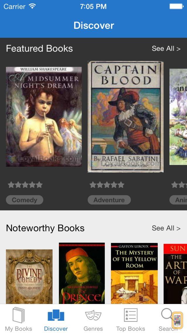 Screenshot - Loyal Books