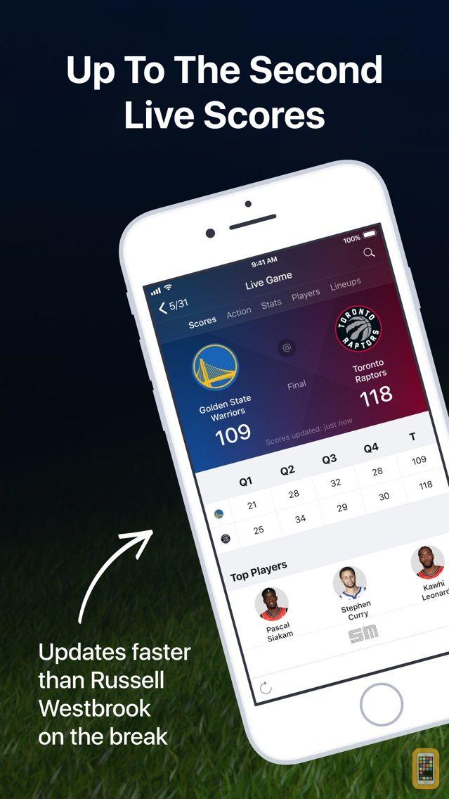Screenshot - Basketball Live: NBA Scores