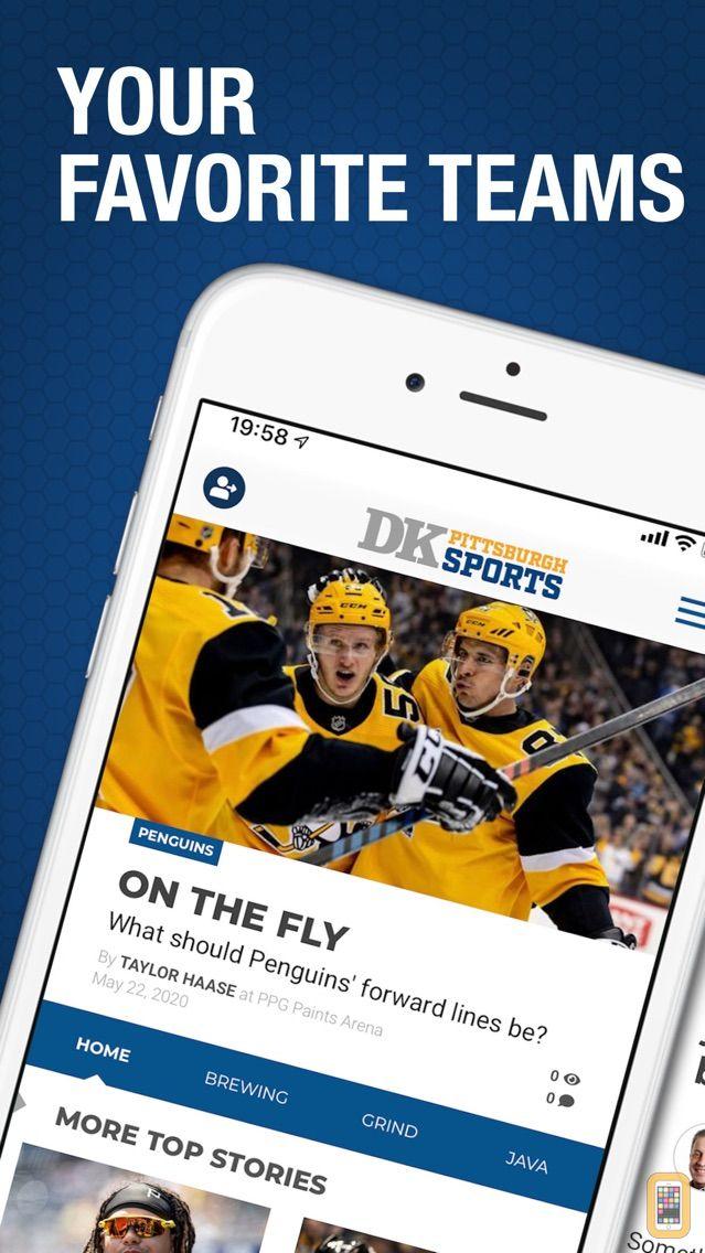 Screenshot - DK Pittsburgh Sports
