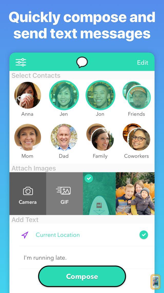 Screenshot - Group Text+