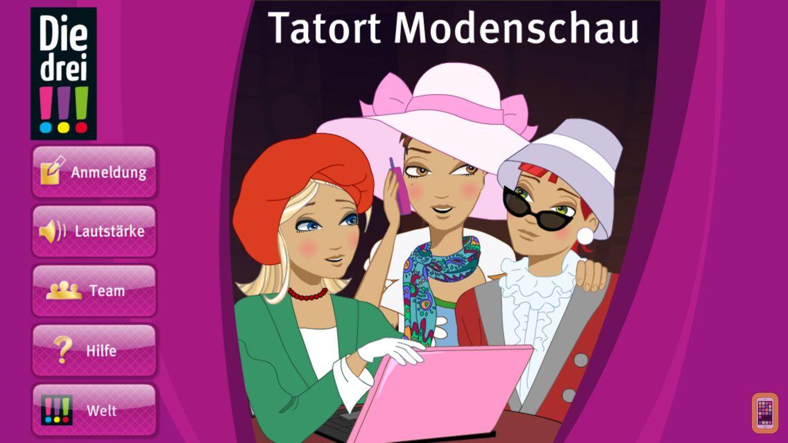 Screenshot - Die drei !!! – Tatort Modenschau