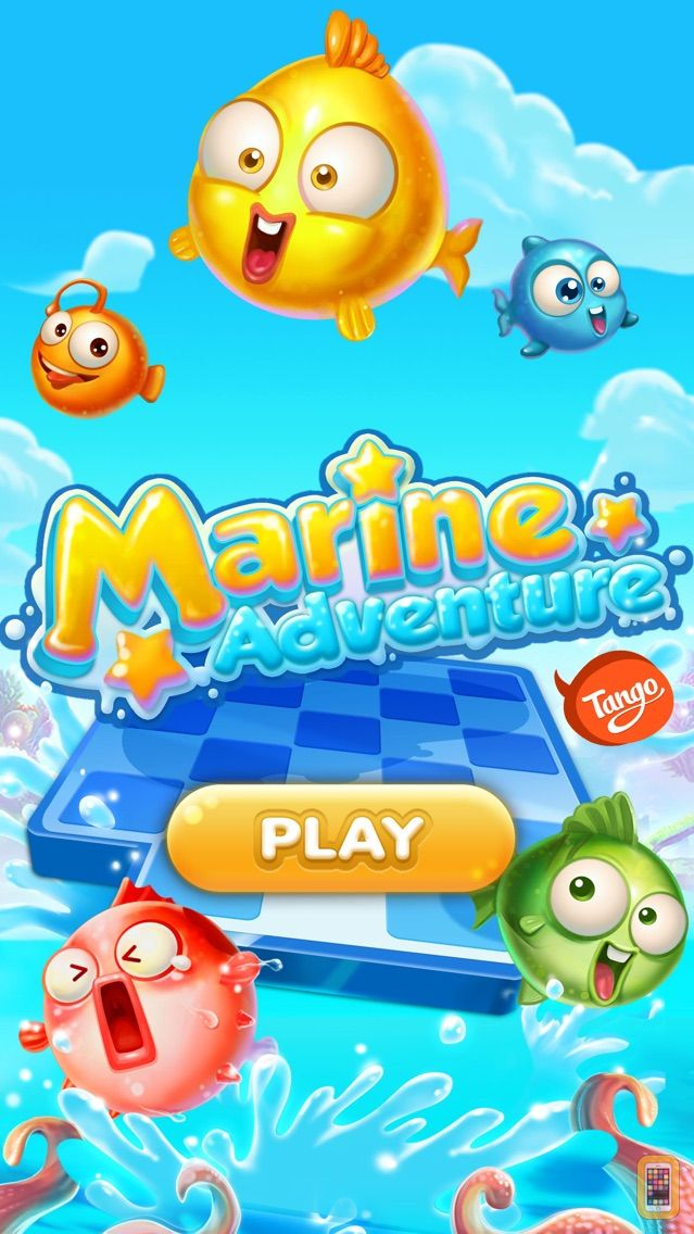 Screenshot - Marine Adventure -- Collect and Match 3 Fish Puzzle Game for TANGO