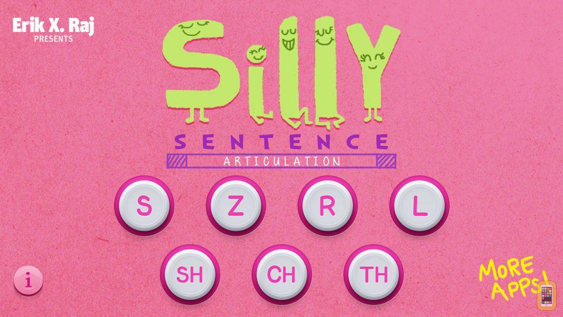 Screenshot - Silly Sentence Articulation