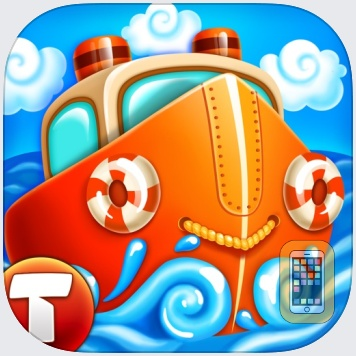 Ships: Full Sail (fun adventure for little sailors) by Thematica - educational and fun apps for kids (Universal)