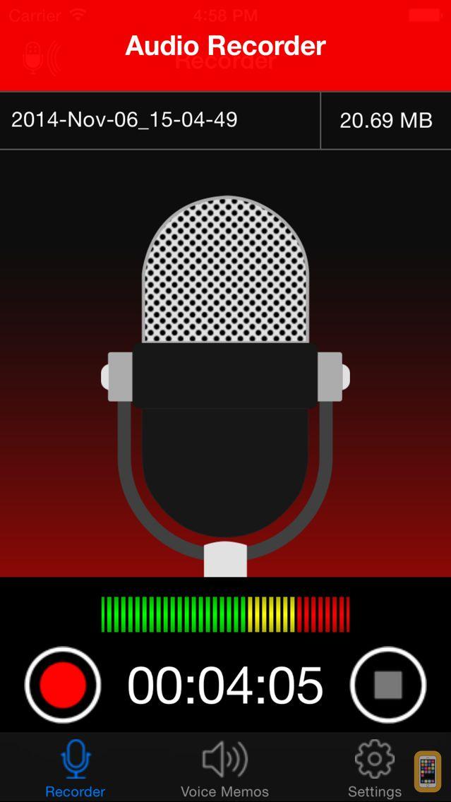 Screenshot - Voice Recorder - Audio Record