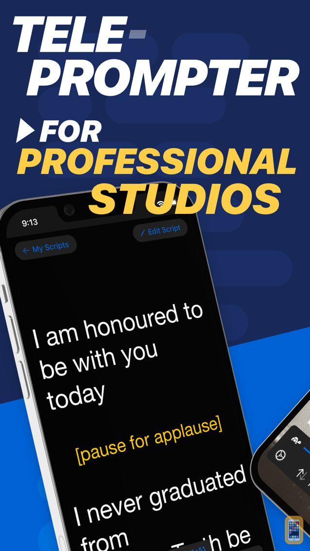 Screenshot - Teleprompter Premium