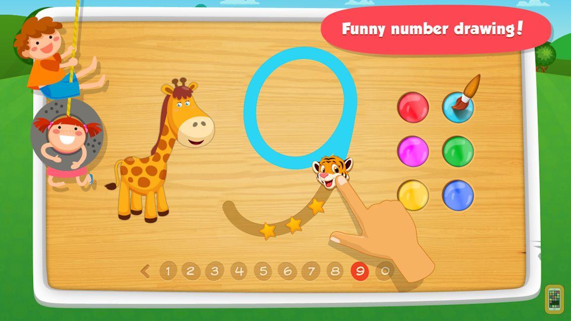 Screenshot - Math Games & Preschool Educational Games-123 Numbers, Free Learning App for Kids