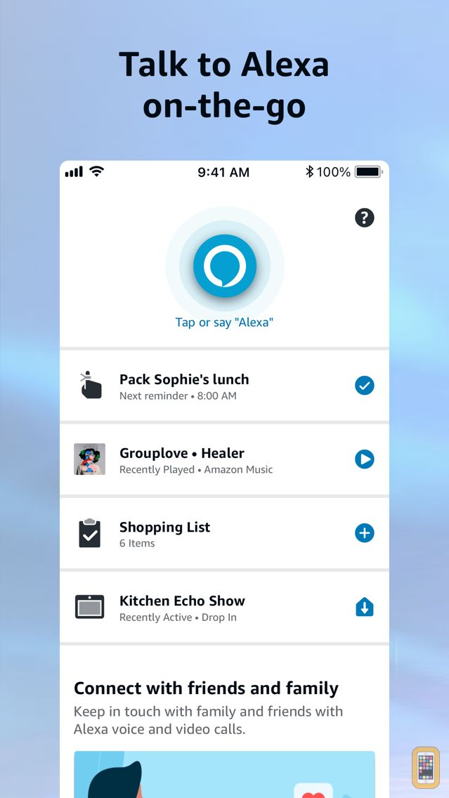 Screenshot - Amazon Alexa