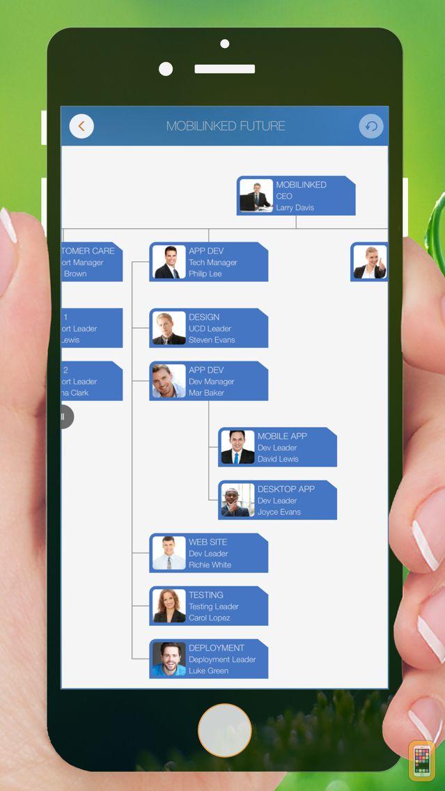 Screenshot - Organization Chart Management
