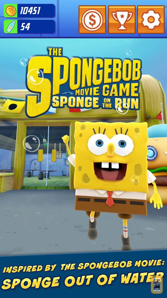 Screenshot - SpongeBob: Sponge on the Run