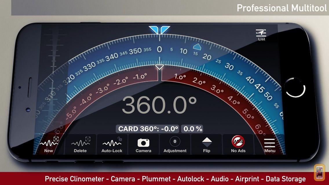 Screenshot - iLevel - Protractor and Level