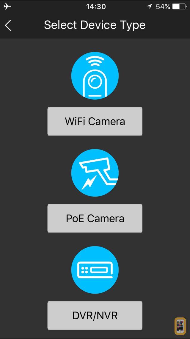 Screenshot - Amcrest View Pro