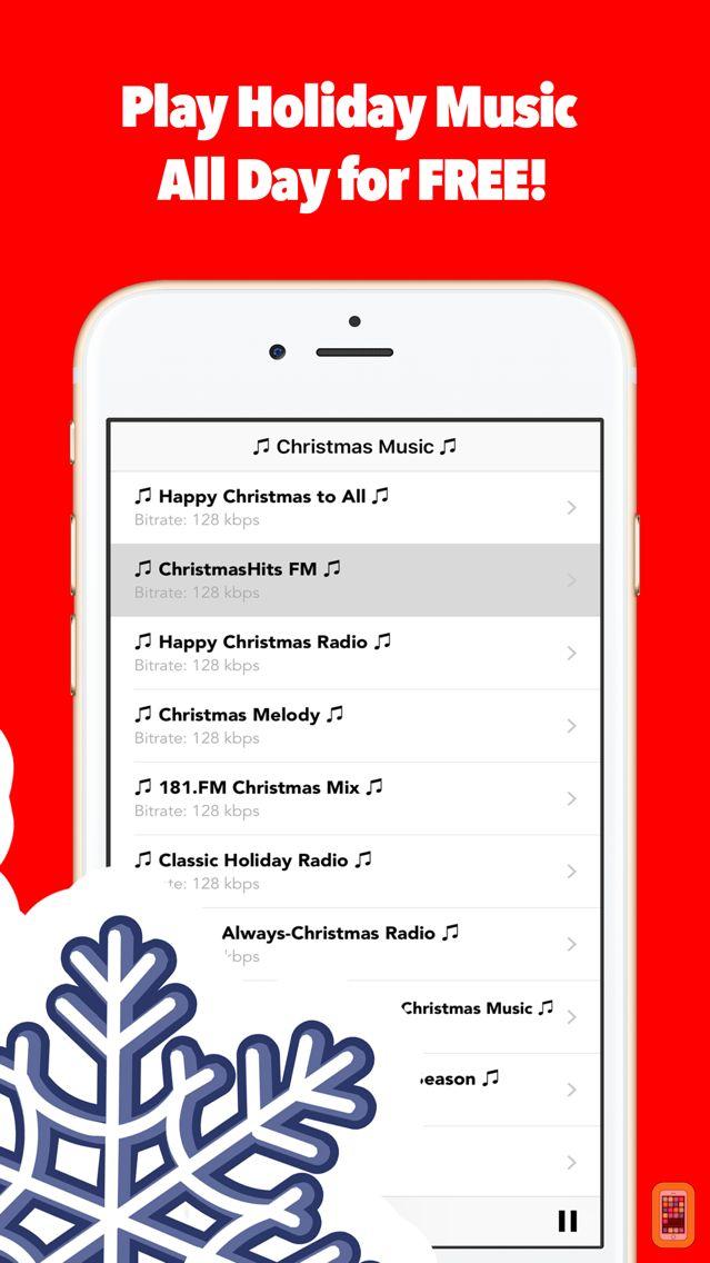 Screenshot - Awesome Christmas Songs Music