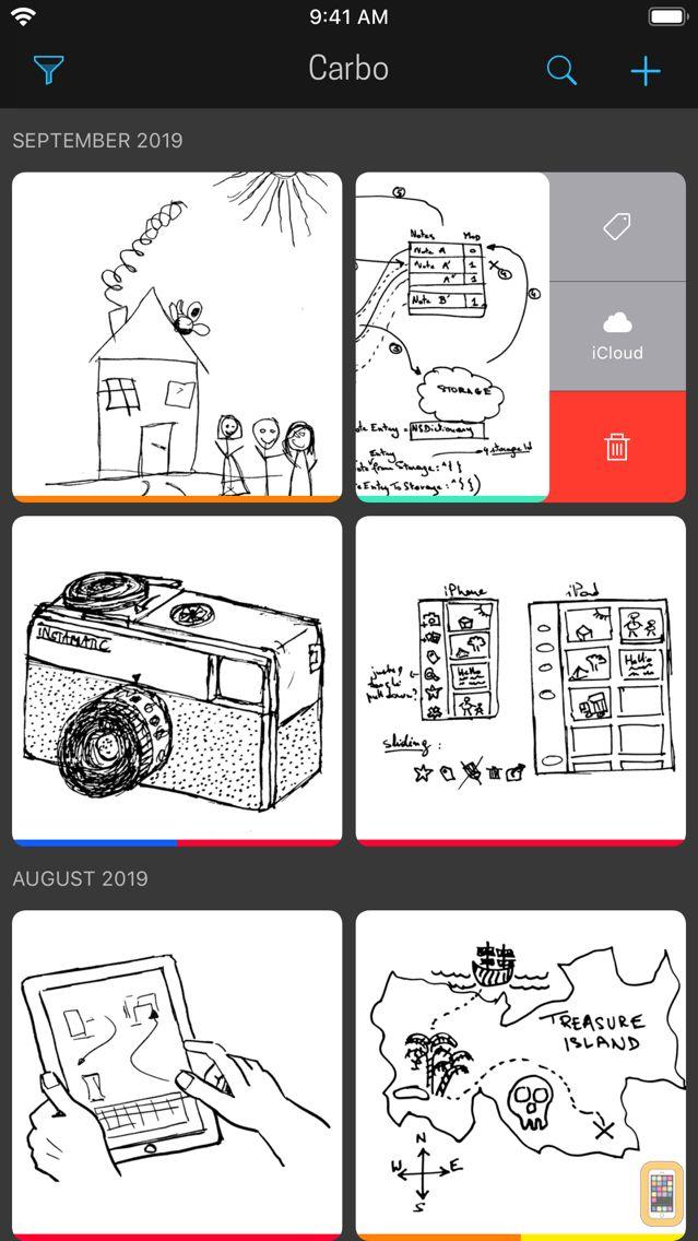 Screenshot - Carbo › Digital Notebook