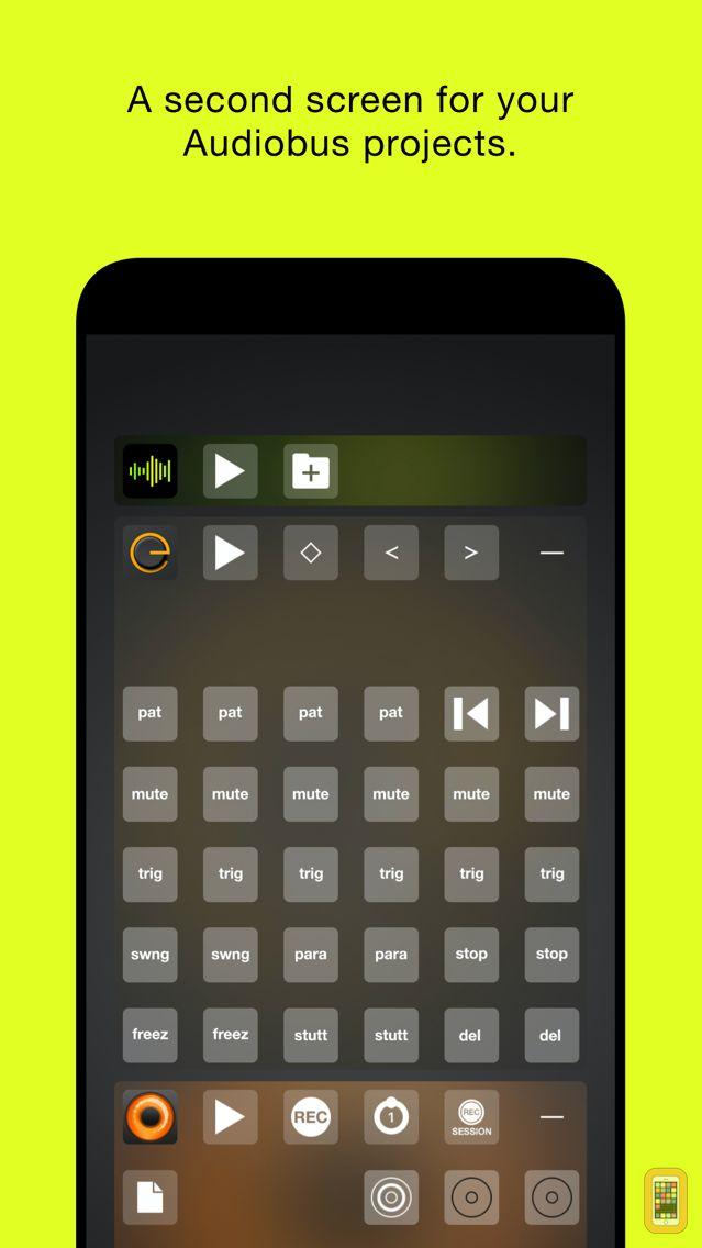 Screenshot - Audiobus Remote