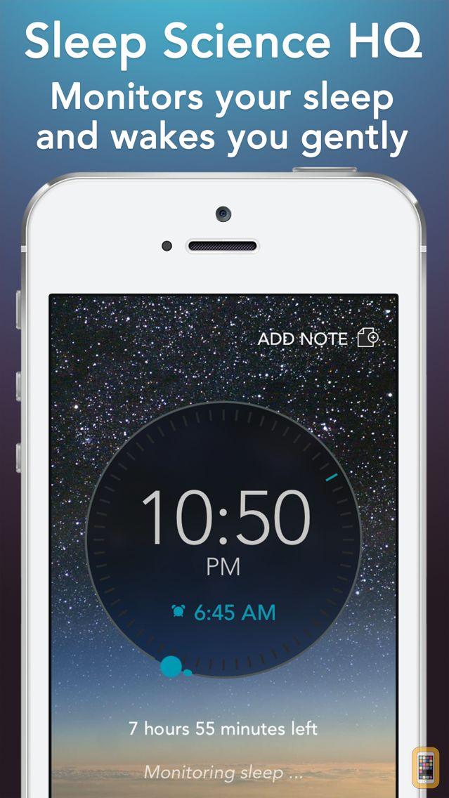 Screenshot - Sleep Science HQ: alarm clock