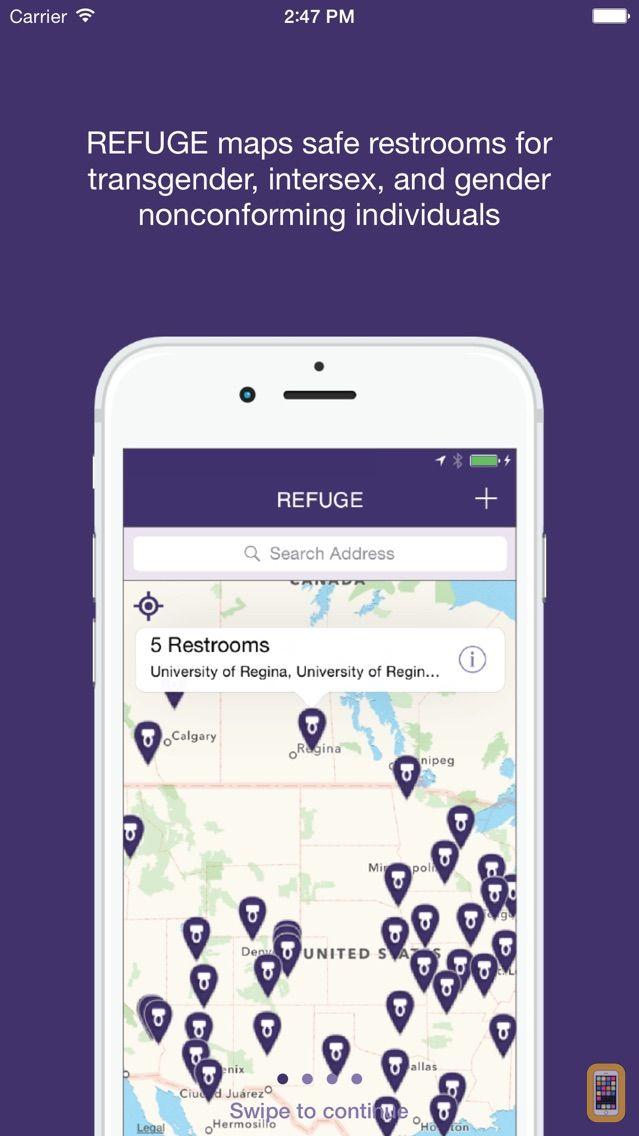 Screenshot - Refuge Restrooms