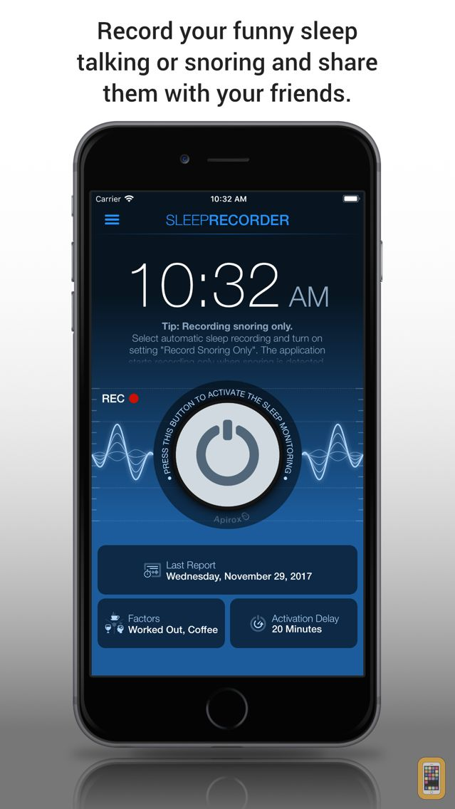 Screenshot - Prime Sleep Recorder