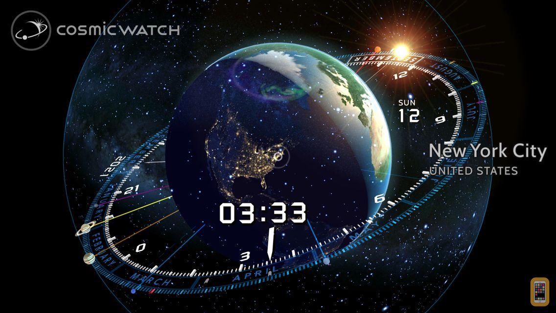 Screenshot - Cosmic-Watch